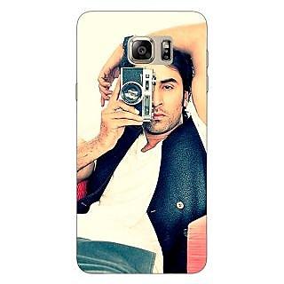 Jugaaduu Bollywood Superstar Ranbir Kapoor Back Cover Case For Samsung S6 Edge+ - J900961