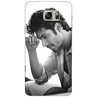 Jugaaduu Bollywood Superstar Varun Dhawan Back Cover Case For Samsung S6 Edge+ - J900962