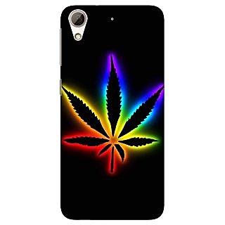 Jugaaduu Weed Marijuana Back Cover Case For HTC Desire 626G - J930492