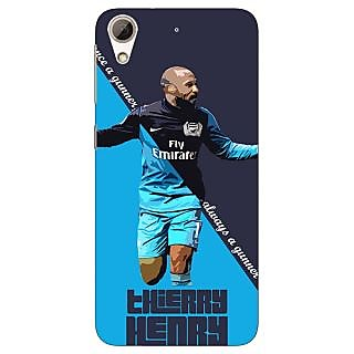 Jugaaduu Arsenal Therry Henry Back Cover Case For HTC Desire 626G - J930505