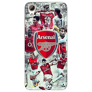 Jugaaduu Arsenal Therry Henry Back Cover Case For HTC Desire 626G - J930508