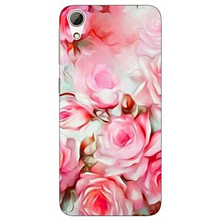 Jugaaduu Floral Pattern  Back Cover Case For HTC Desire 626 - J920666
