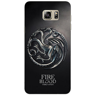 Jugaaduu Game Of Thrones GOT House Targaryen  Back Cover Case For Samsung Galaxy Note 5 - J910145