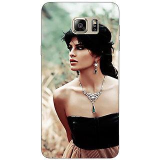 Jugaaduu Bollywood Superstar Jacqueline Fernandez Back Cover Case For Samsung S6 Edge+ - J901006
