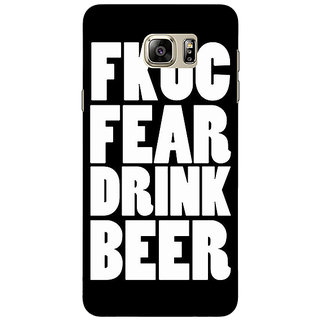 Jugaaduu Beer Quote Back Cover Case For Samsung Galaxy Note 5 - J911228