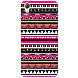 Jugaaduu Aztec Girly Tribal Back Cover Case For HTC Desire 626G+ - J940055
