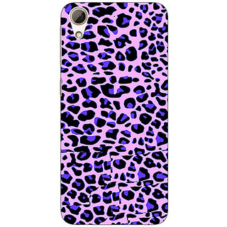 Jugaaduu Cheetah Leopard Print Back Cover Case For HTC Desire 626G+ - J940079
