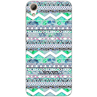 Jugaaduu Aztec Girly Tribal Back Cover Case For HTC Desire 626G+ - J940100