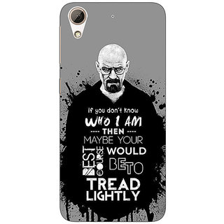 Jugaaduu Breaking Bad Heisenberg Back Cover Case For HTC Desire 626G+ - J940427