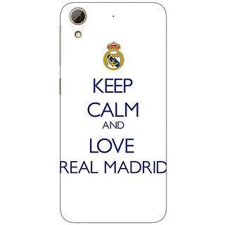 Jugaaduu Real Madrid Back Cover Case For HTC Desire 626G - J930600