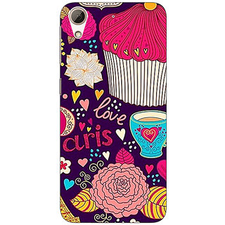 Jugaaduu Paris Love  Back Cover Case For HTC Desire 626G+ - J940795