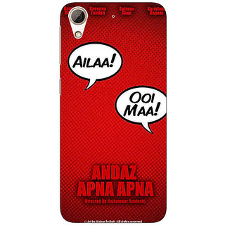 Jugaaduu Bollywood Superstar Andaz Apna Apna Back Cover Case For HTC Desire 626 - J921086