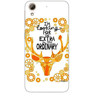 Jugaaduu Quotes Back Cover Case For HTC Desire 626G+ - J941162