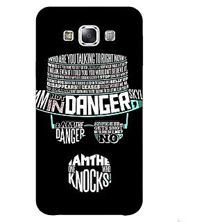 Jugaaduu Breaking Bad Heisenberg Back Cover Case For Samsung Galaxy A3 - J570433