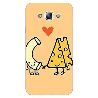 Jugaaduu Cheese Donut Love Back Cover Case For Samsung Galaxy A3 - J571133