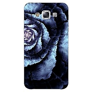 Jugaaduu Abstract Flower Pattern Back Cover Case For Samsung Galaxy A3 - J571506