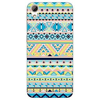 Jugaaduu Aztec Girly Tribal Back Cover Case For HTC Desire 626 - J920061