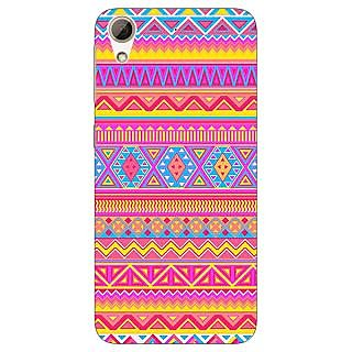 Jugaaduu Aztec Girly Tribal Back Cover Case For HTC Desire 626 - J920072