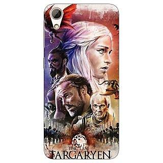 Jugaaduu Game Of Thrones GOT House Targaryen  Back Cover Case For HTC Desire 626G+ - J940139