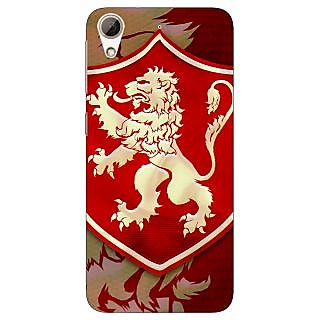 Jugaaduu Game Of Thrones GOT House Lannister  Back Cover Case For HTC Desire 626G+ - J940161