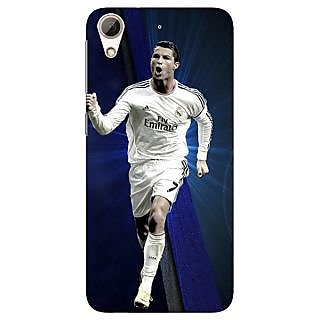 Jugaaduu Cristiano Ronaldo Real Madrid Back Cover Case For HTC Desire 626G - J930316