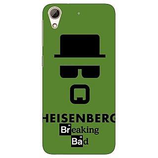 Jugaaduu Breaking Bad Heisenberg Back Cover Case For HTC Desire 626 - J920414