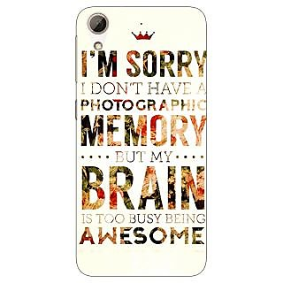 Jugaaduu SUITS Quotes Back Cover Case For HTC Desire 626G+ - J940481