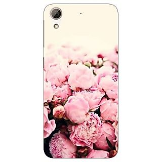 Jugaaduu Floral Pattern  Back Cover Case For HTC Desire 626G - J930657