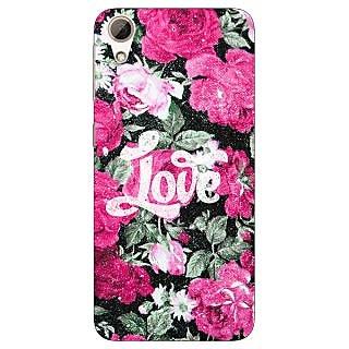 Jugaaduu Floral Pattern  Back Cover Case For HTC Desire 626G - J930678