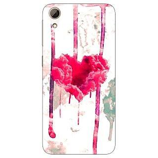 Jugaaduu Love Heart  Back Cover Case For HTC Desire 626G - J930707