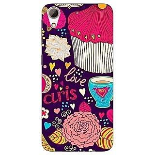 Jugaaduu Paris Love  Back Cover Case For HTC Desire 626 - J920795