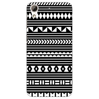 Jugaaduu Pattern  Back Cover Case For HTC Desire 626 - J920800