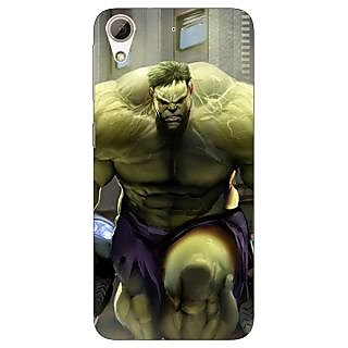 Jugaaduu The Incredible Hulk Back Cover Case For HTC Desire 626G+ - J940857