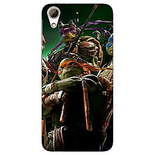 Jugaaduu Ninja Turtles Back Cover Case For HTC Desire 626G+ - J940888