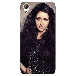 Jugaaduu Bollywood Superstar Shraddha Kapoor Back Cover Case For HTC Desire 626G - J931008