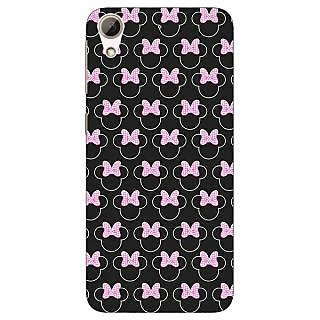 Jugaaduu Minnie Mouse Pattern Back Cover Case For HTC Desire 626G - J931386