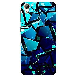 Jugaaduu Crystal Prism Back Cover Case For HTC Desire 626G - J931412
