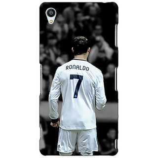 Jugaaduu Cristiano Ronaldo Real Madrid Back Cover Case For Sony Xperia Z4 - J580315