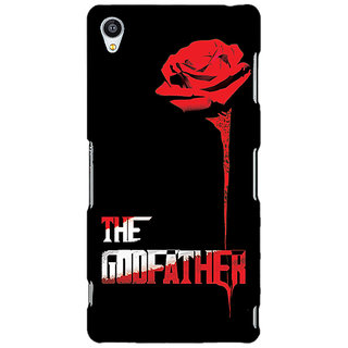 Jugaaduu The Godfather Back Cover Case For Sony Xperia Z4 - J580347