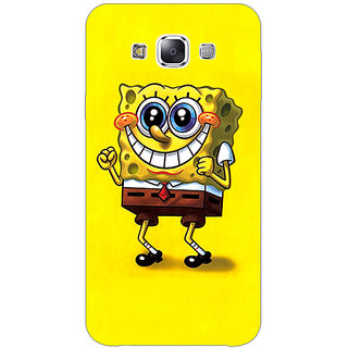 Jugaaduu Spongebob Back Cover Case For Samsung Galaxy A3 - J570470