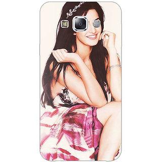 Jugaaduu Bollywood Superstar Katrina Kaif Back Cover Case For Samsung Galaxy A3 - J570979