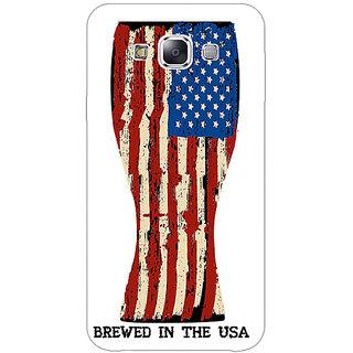 Jugaaduu USA Beer Back Cover Case For Samsung Galaxy A3 - J571213