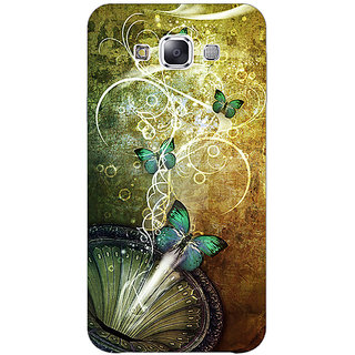 Jugaaduu Abstract Butter Fly Pattern Back Cover Case For Samsung Galaxy A3 - J571525