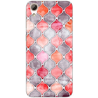 Jugaaduu Morrocan Pattern Back Cover Case For HTC Desire 626G+ - J940224