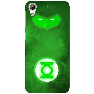 Jugaaduu Superheroes Green Lantern Back Cover Case For HTC Desire 626G - J930339
