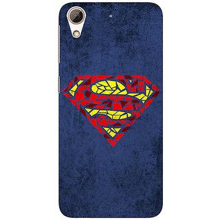 Jugaaduu Superheroes Superman Back Cover Case For HTC Desire 626G - J930381