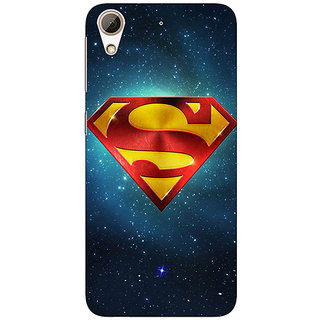Jugaaduu Superheroes Superman Back Cover Case For HTC Desire 626G - J930383