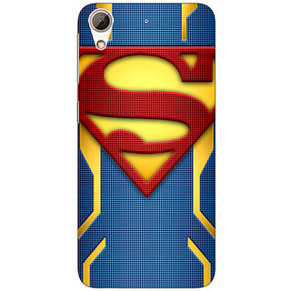 Jugaaduu Superheroes Superman Back Cover Case For HTC Desire 626G - J930390