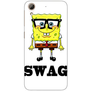 Jugaaduu Spongebob Back Cover Case For HTC Desire 626 - J920473