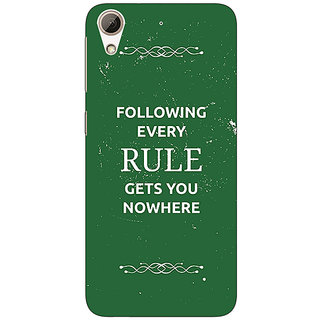 Jugaaduu SUITS Quotes Back Cover Case For HTC Desire 626 - J920486